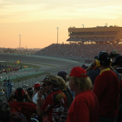 Sunset at Homestead-Miami Speedway in 2006