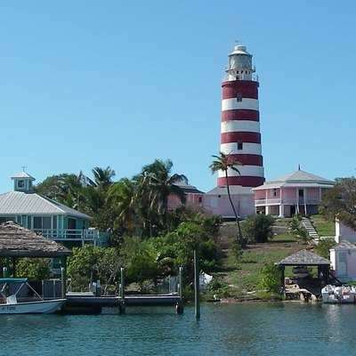 Hopetown Lighthouse, Elbow Cay, Abacos, Bahamas