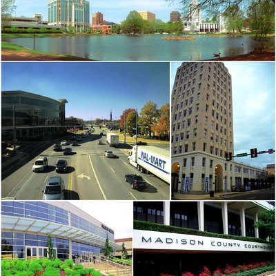Photo montage of Huntsville, Alabama