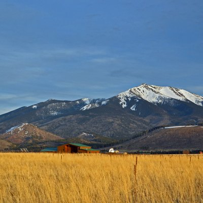 Humphreys Peak near Flagstaff, Arizona