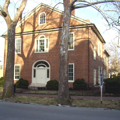 Hunt-Morgan House, Located In The Gratz Park Historic District In Lexington, Kentucky, Was Built By John Wesley Hunt In 1814. Other Famous Residents Include Confederate General John Hunt Morgan And Noble Prize Recipient Dr. Thomas Hunt Morgan. The Current Address Is 201 N. Mill Street, Lexington, Kentucky.