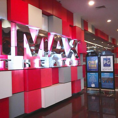 The IMAX theatre at SM Southmall. This is the 4th IMAX theatre in the Philippines.