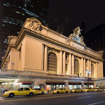 Grand Central terminal in New York, NY