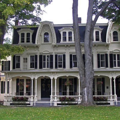 The Inn At Cooperstown New York Built In 1874 As An Annex To Fenimore Hotel Part Of Historic District