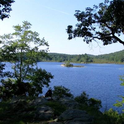 Island Pond, in Harriman State Park