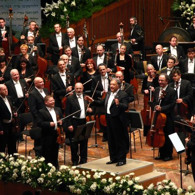 The Israel Philharmonic Orchestra's 70th Anniversary.