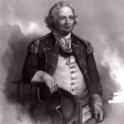 Major General Israel Putnam, during the American Revolutionary War