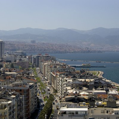Izmir from the EGE PALACE HOTEL
