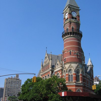 Jefferson Market Library in Greenwich Village.