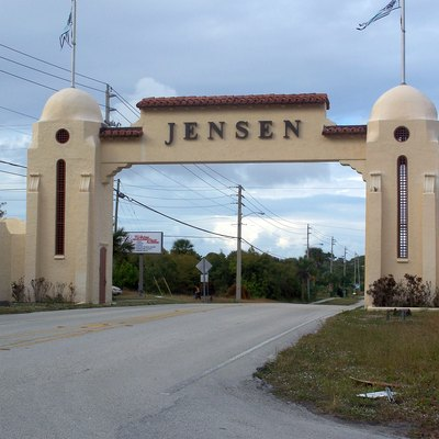 Jensen Beach, Florida: Stuart Welcome Arch
