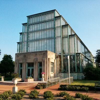 The Jewel Box in Forest Park in St. Louis, Missouri