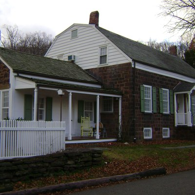 The John and Anna Vreeland House, a National and State Historic Place located in Clifton, New Jersey. The house was built in 1817.