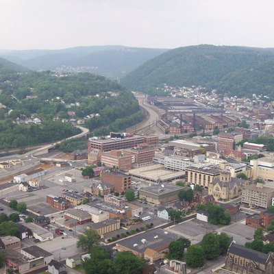 This image was taken by the author (Darthgriz98) from atop the Johnstown Incline Plane platform.