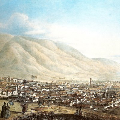 Caracas, as painted by Joseph Thomas in 1839