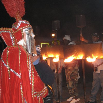 New Orleans Carnival: Lighting the