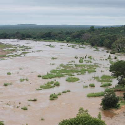 The Olifants River in the Kruger National Park