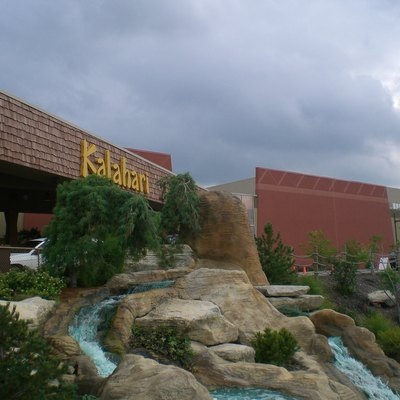 The Kalahari is a popular waterpark with a African theme.
