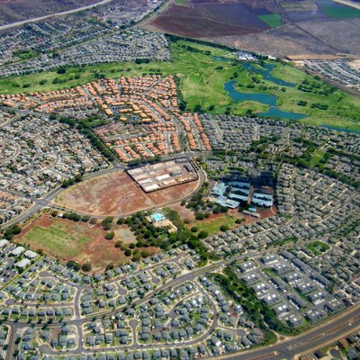 Aerial Photo of Kapolei, Oahu, Hawaii