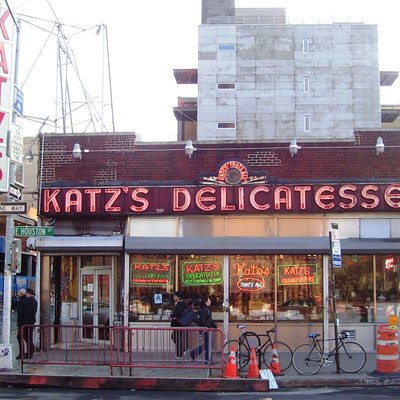 Katz'S Delicatessen At 250 East Houston Street On The Corner Of Ludlow Street In The Lower East Side Neighborhood Of Manhattan, New York City, Has Been In Business Since 1888.