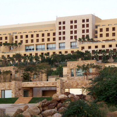 The Kempinski Hotel Ishtar Dead Sea Jordan.
