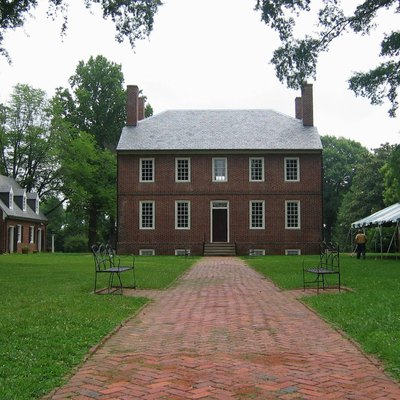 Kenmore Plantation In Fredericksburg, Virginia As Seen In 2006.