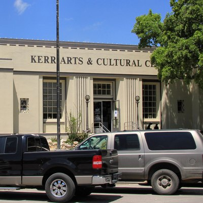 The Kerr Arts and Cultural Center in the former post office in Kerrville, Texas, United States.