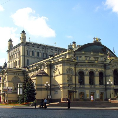 The Schevchenko National Opera House of Ukraine in Kiev