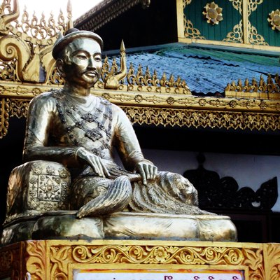 King Mindon is the founder of Mandalay Royal Capital