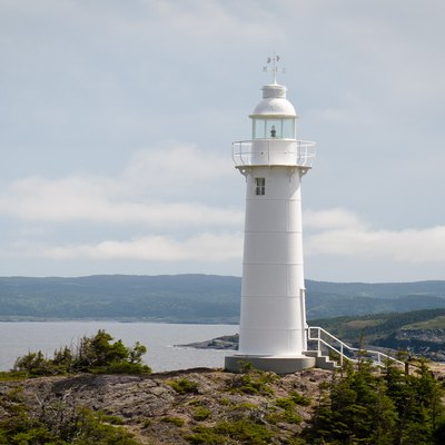 Kings Cove Head Lighthouse, Kings Cove, Newfoundland and Labrador, Canada Lat./Long 48.57, -53.32