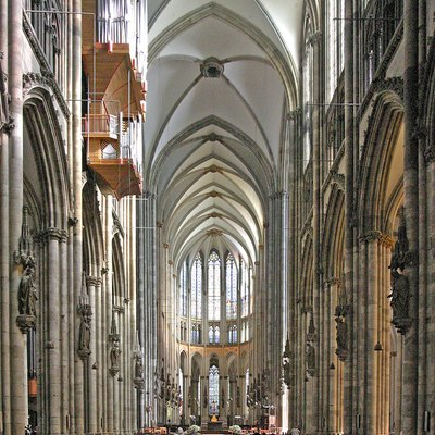 Cologne Cathedral, Interior. Germany