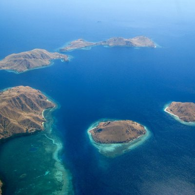 Northern tip of Komodo Island, Indonesia