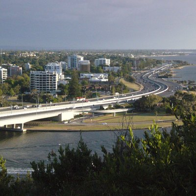 Kwinana Freeway, Perth, Western Australia