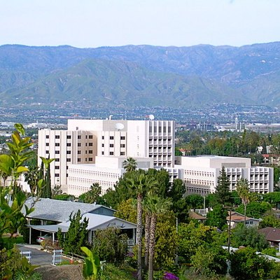 Photo taken of the Loma Linda University Medical Center from