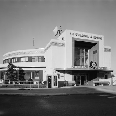 The Marine Air Terminal at LaGuardia Airport, built in 1940 in Jackson Heights, Queens.