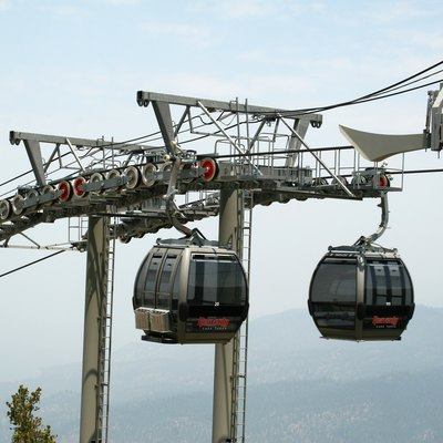 The Gondola ride at Lake Tahoe, South Lake Tahoe, CA