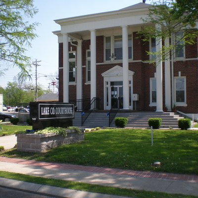 Lake County courthouse in Tiptonville, Tennessee