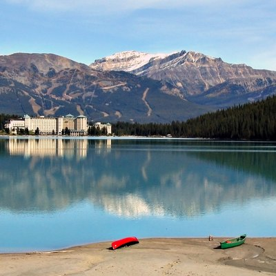 Fairmont Chateau Hotel, Lake Louise, Banff National Park, Canada