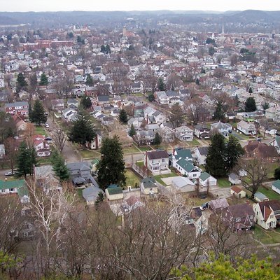 W:Lancaster, Ohio As Viewed From Mount Pleasant