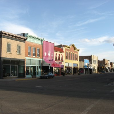 Southeastern corner of the intersection of Second Street and Ivinson Avenue in downtown Laramie, Wyoming, United States. This intersection is located in the heart of the Laramie Downtown Historic District, which is listed on the National Register of Historic Places.