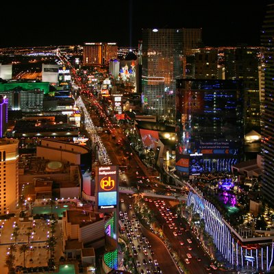Las Vegas Strip, In Clark County