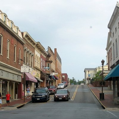 Downtown Lexington, Virginia, United States.