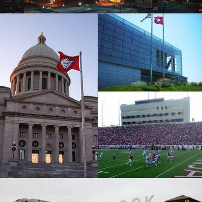 Collage of Little Rock
