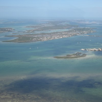 Aerial view of Little Torch Key, Florida