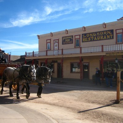 Historic building in Tombstone, Arizona.