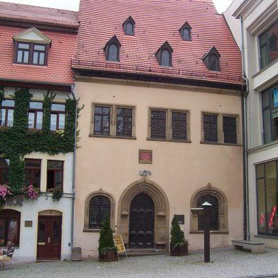 Martin Luther died in this house in 1546