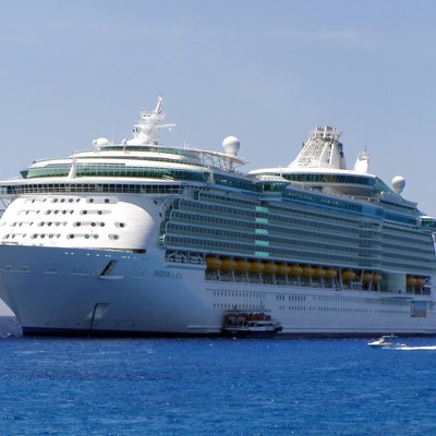 Royal Caribbean's Freedom of the Seas luxury cruise ship.