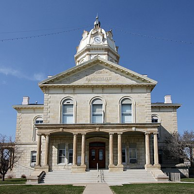 County courthouse for Madison County, Iowa.