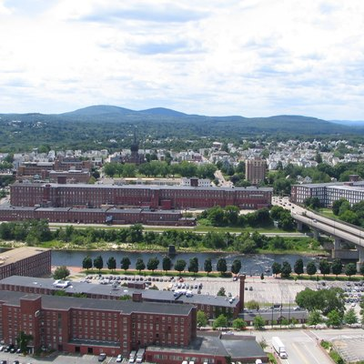 Manchester, New Hampshire. This was taken from the top of the 1000 Elm tower.