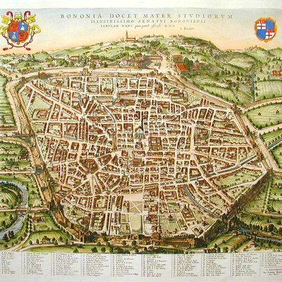 Maps of Bologna