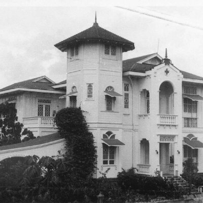 Mariano Ramos Ancestral House In Bacolod City, Negros Occidental, Built In The 1930s.